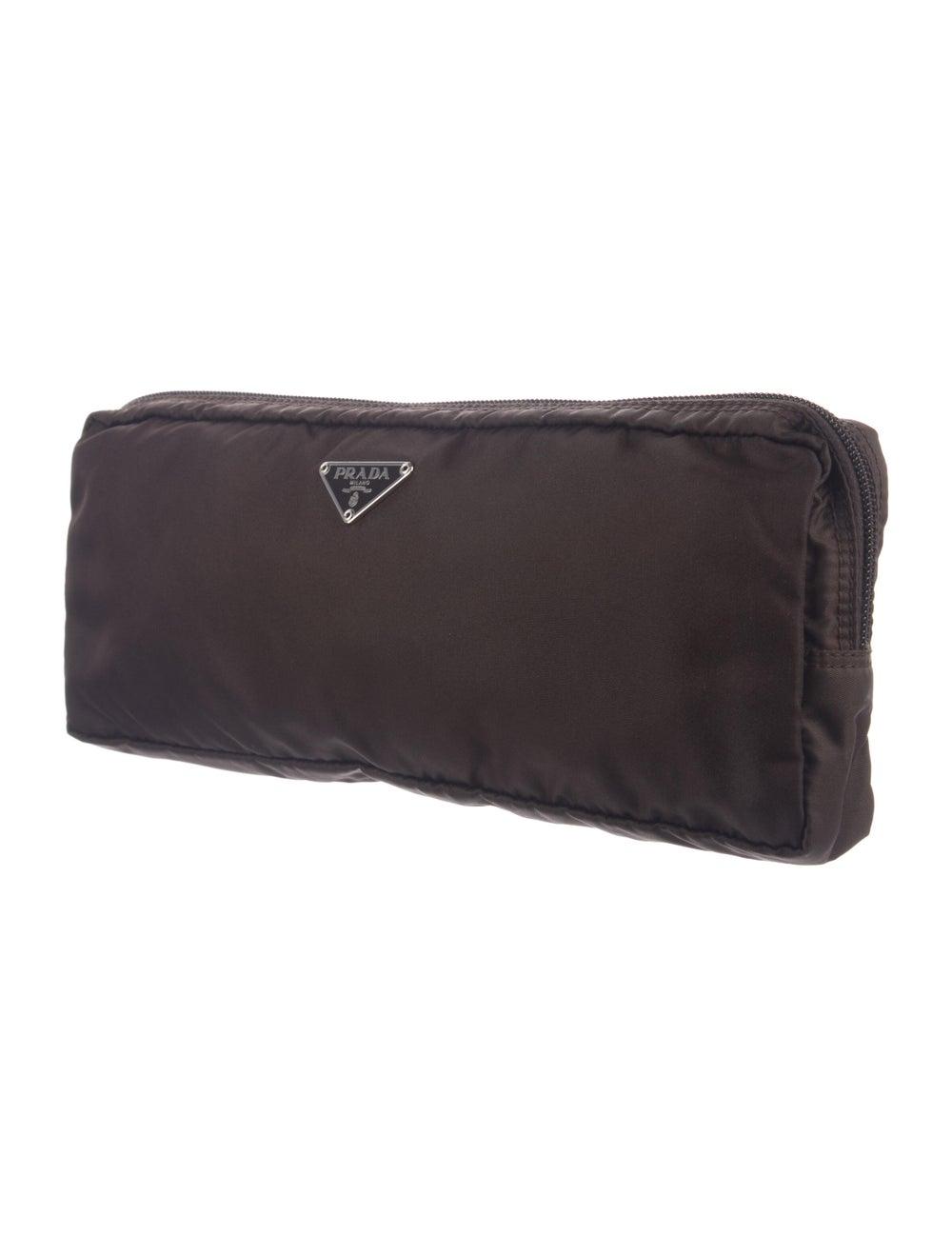 Prada Cosmetic Bag Brown - image 3