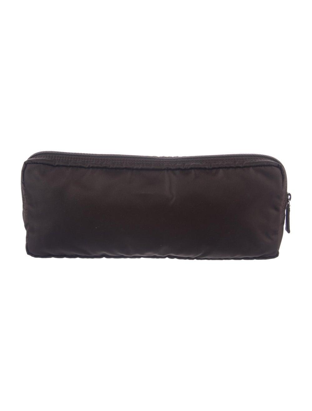 Prada Cosmetic Bag Brown - image 4