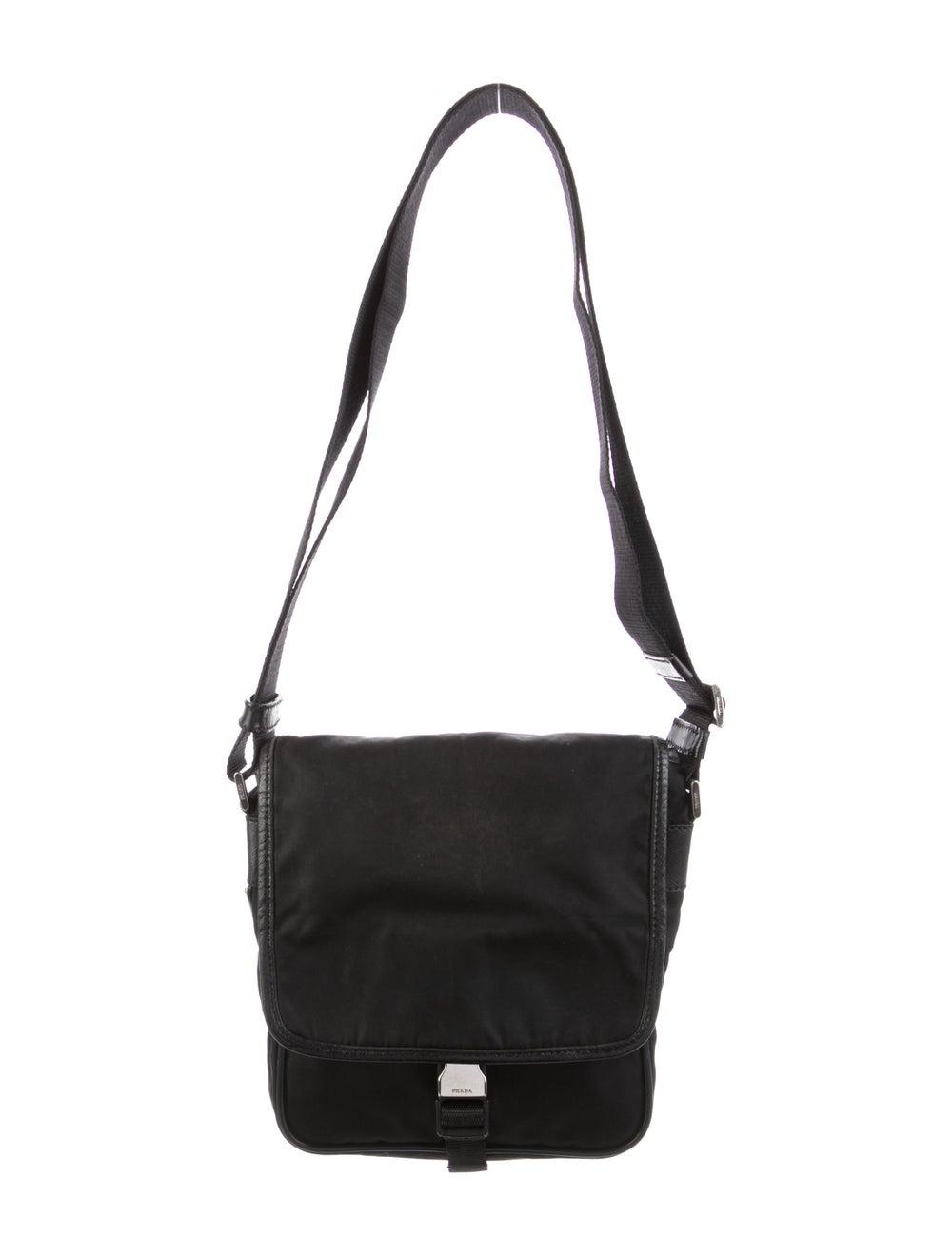 Prada Tessuto Messenger Bag Black - image 1