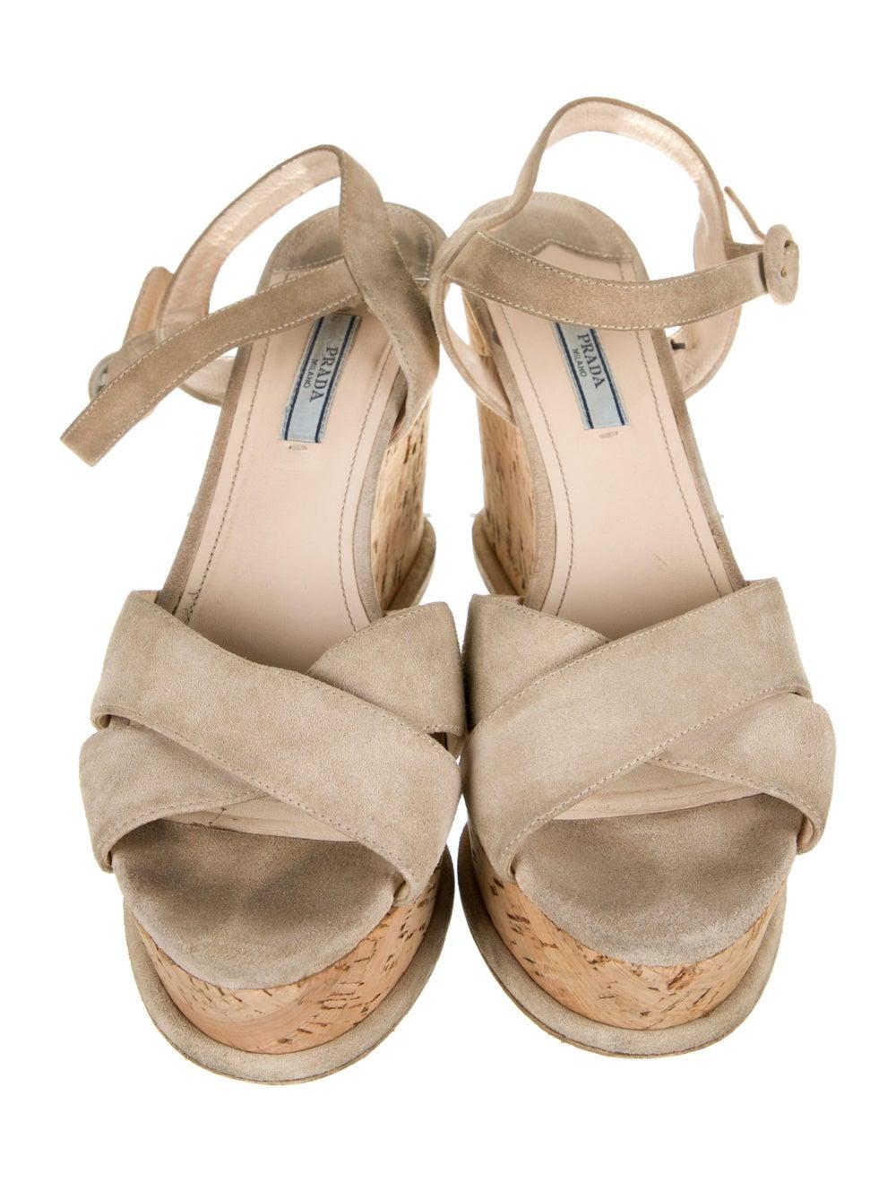 Prada Suede Sandals - image 3