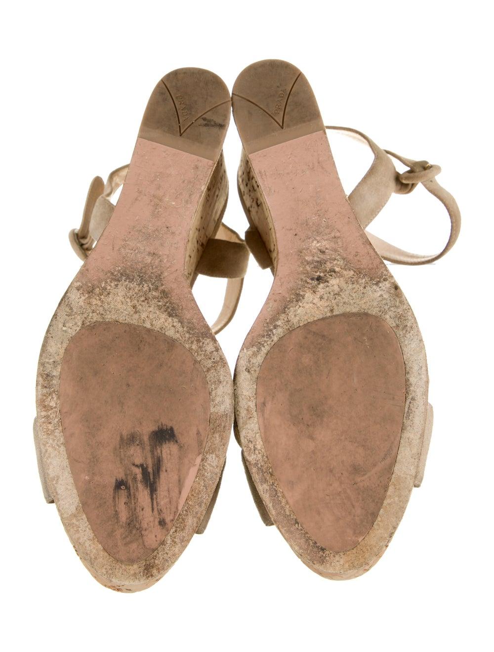 Prada Suede Sandals - image 5