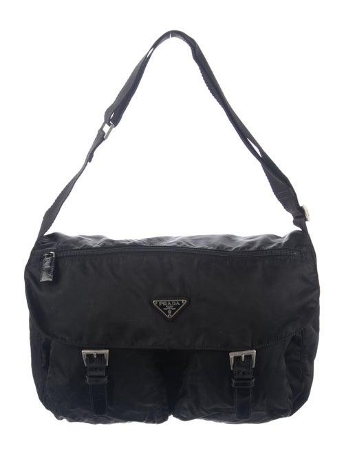 Prada Vela Messenger Bag Black - image 1