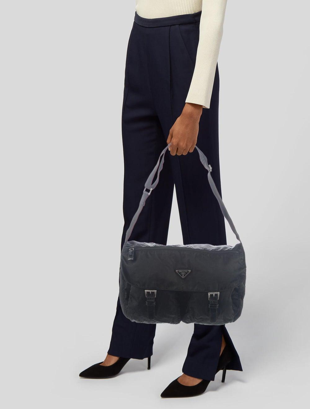 Prada Vela Messenger Bag Black - image 2