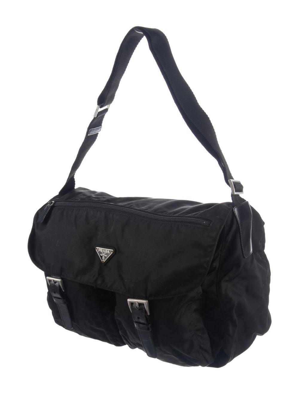 Prada Vela Messenger Bag Black - image 3