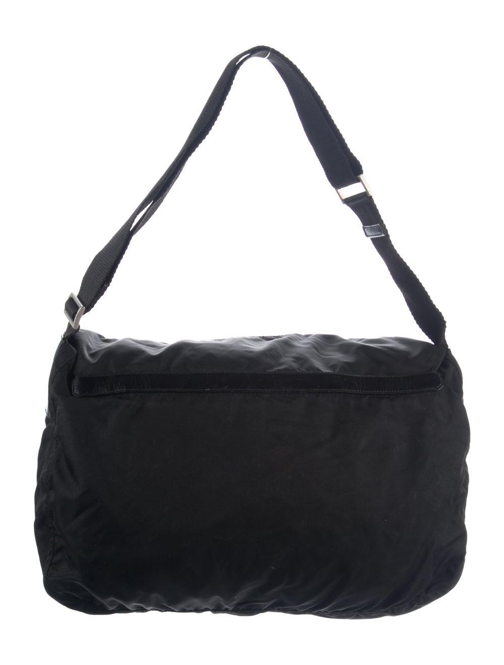 Prada Vela Messenger Bag Black - image 4