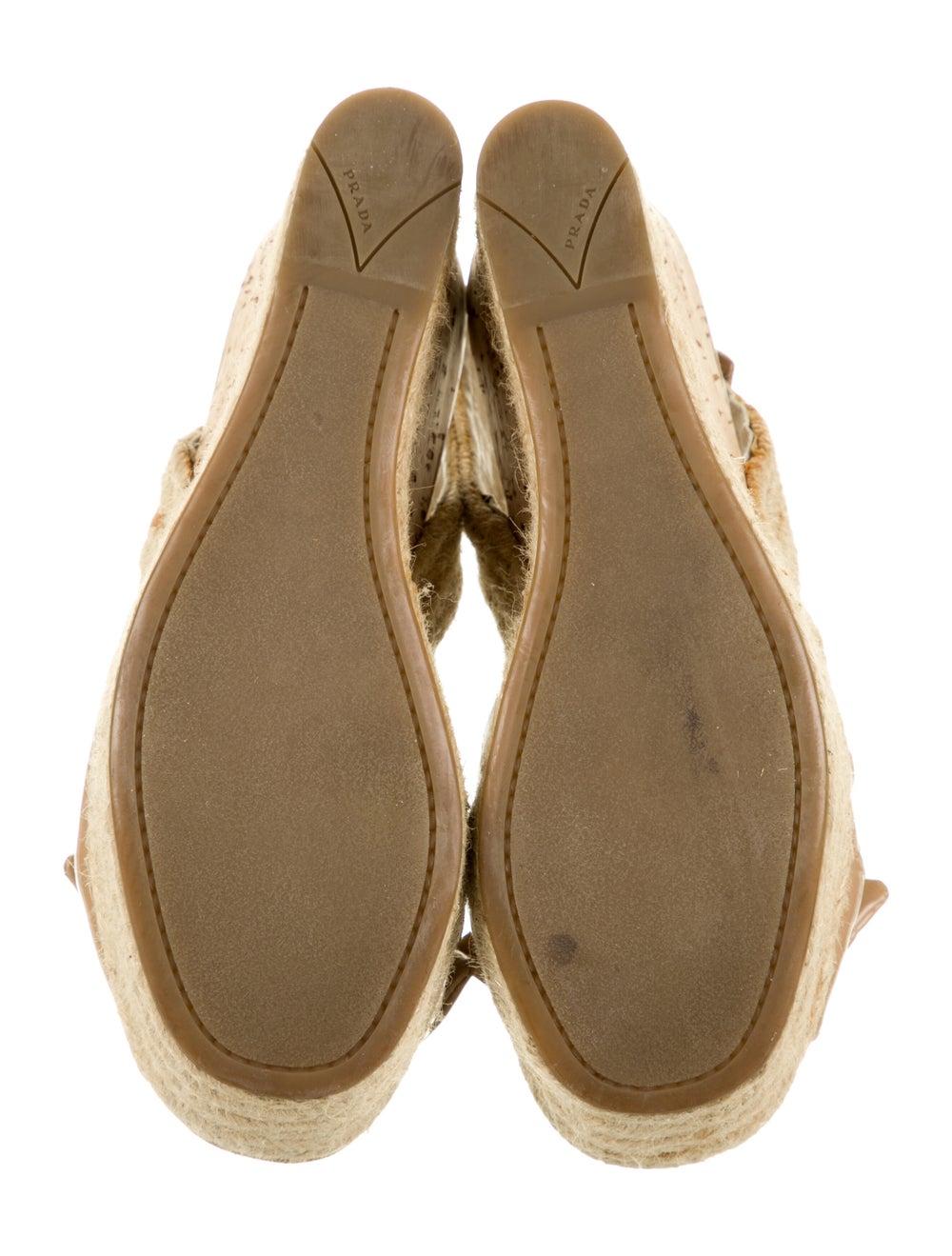 Prada Patent Leather Espadrilles - image 5
