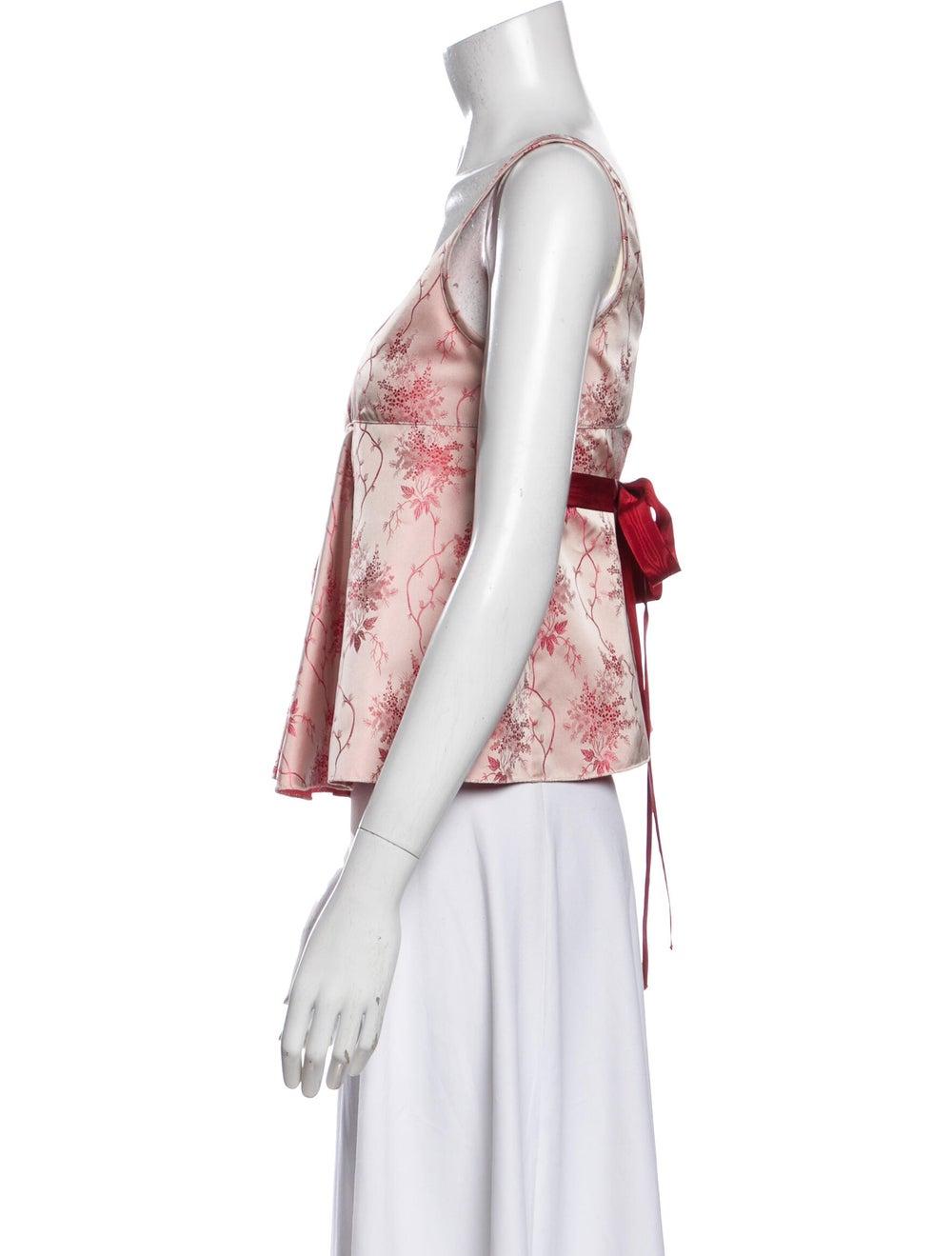 Prada 2002 Qipao Top Pink - image 2