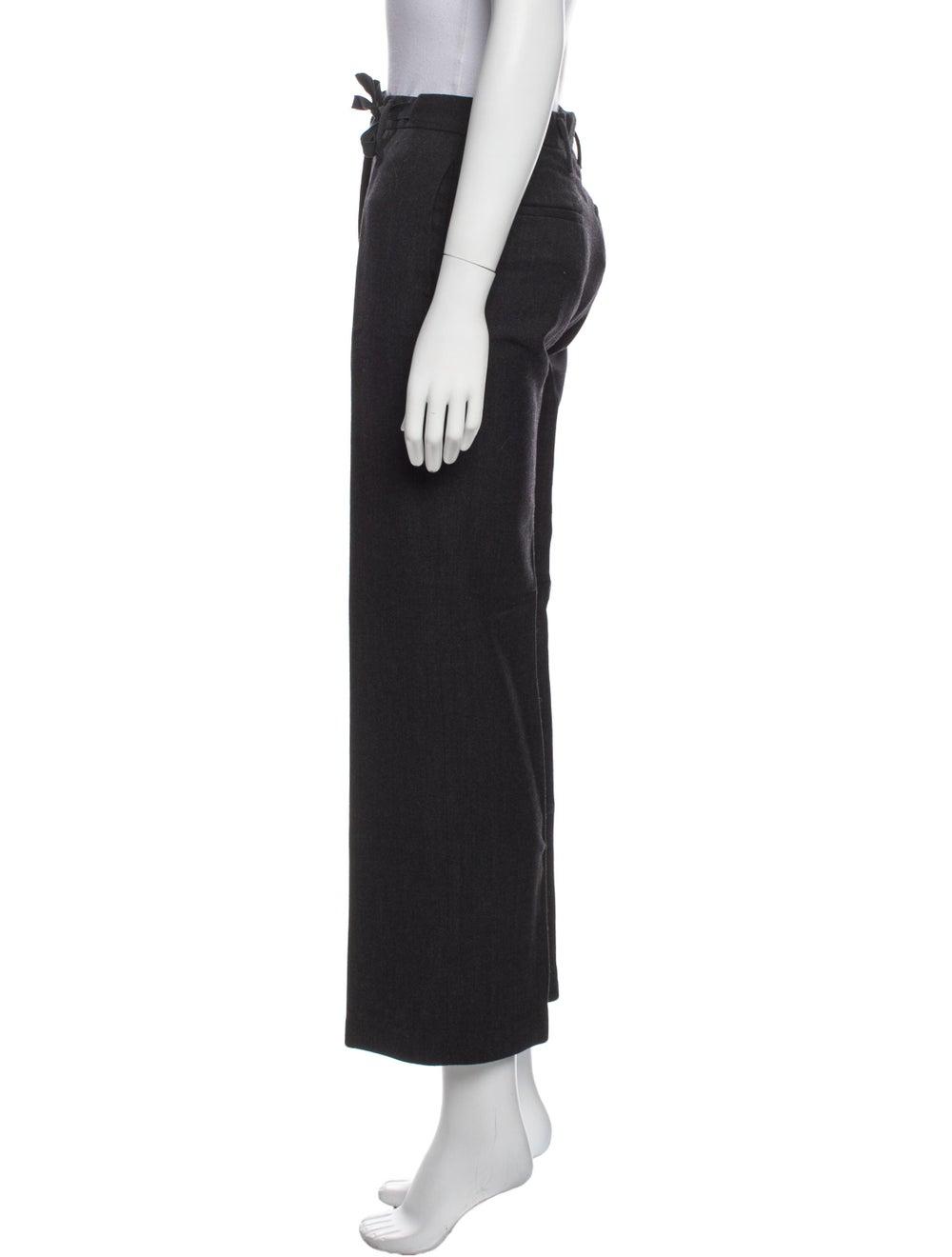 Prada Wide Leg Pants Black - image 2