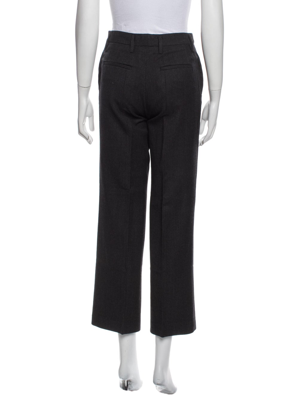 Prada Wide Leg Pants Black - image 3
