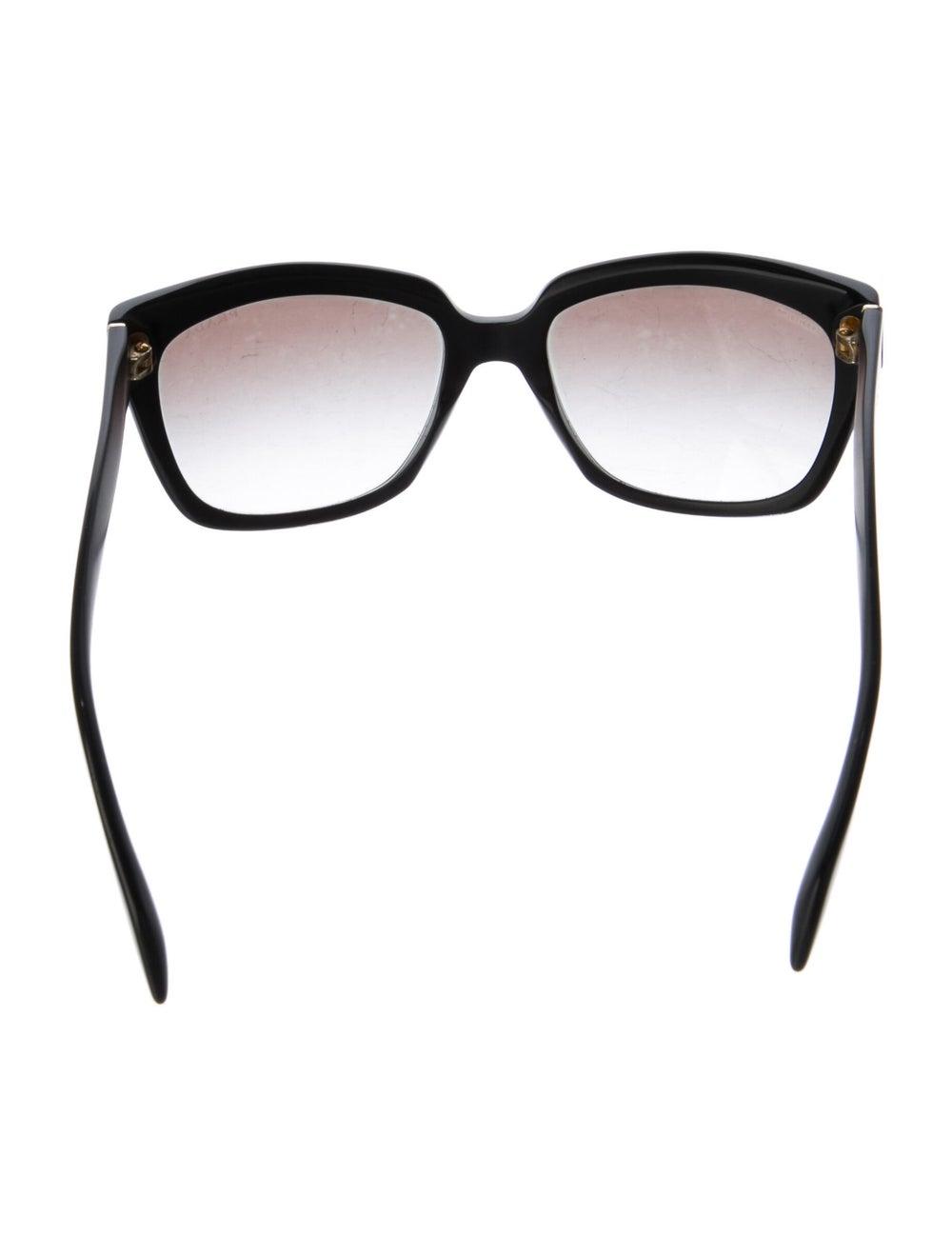 Prada Square Gradient Sunglasses Black - image 3