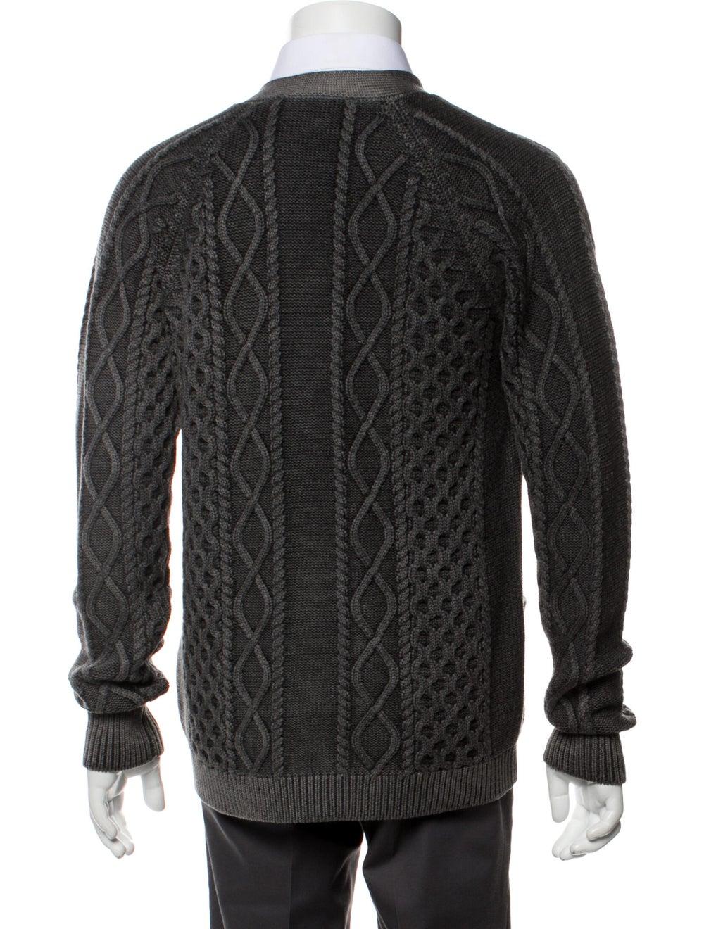 Prada Wool Printed Cardigan Wool - image 3