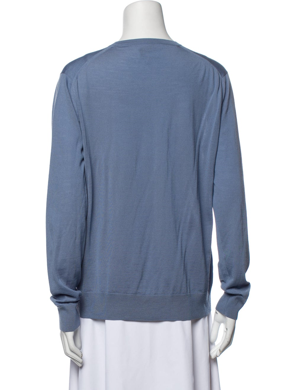 Prada Virgin Wool Crew Neck Sweater Wool - image 3