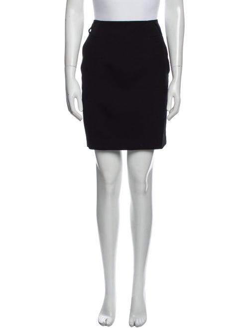 Prada Wool Mini Skirt Wool - image 1