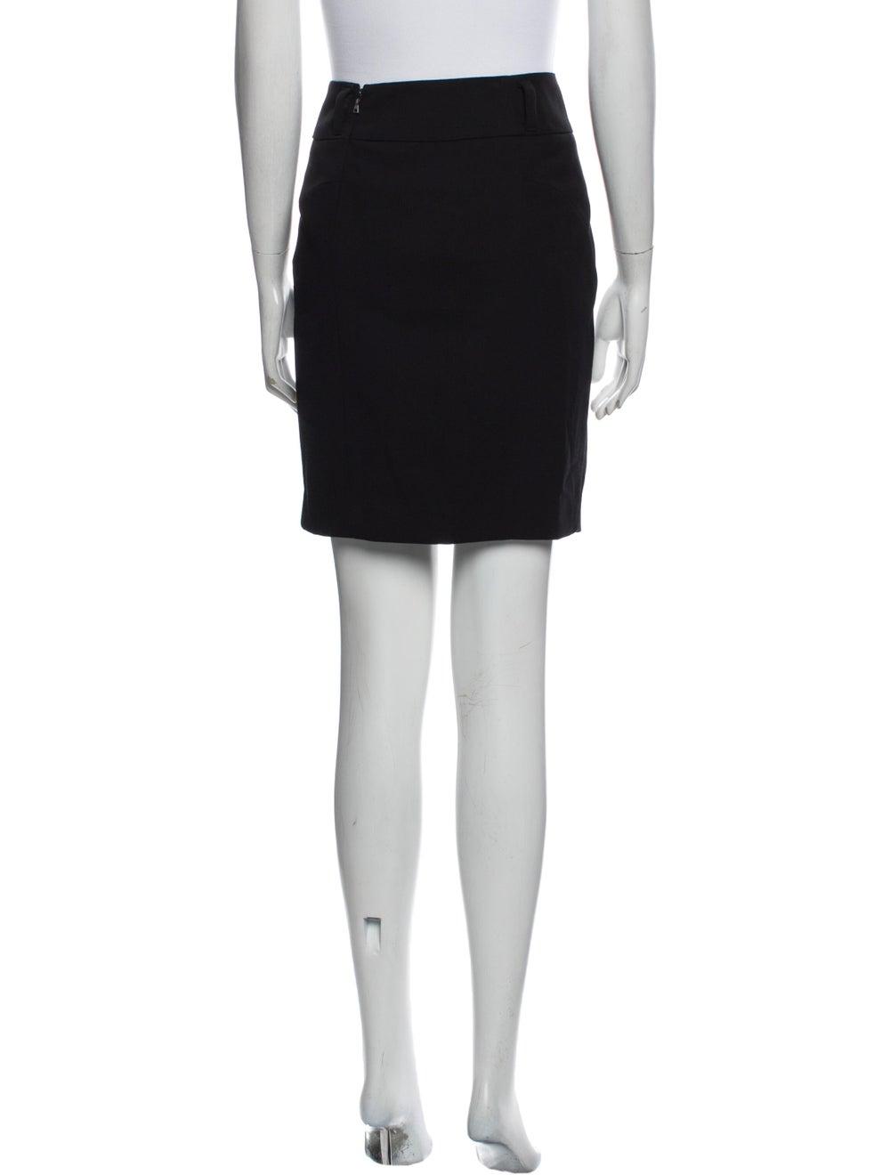 Prada Wool Mini Skirt Wool - image 3
