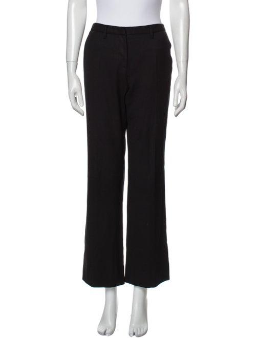 Prada Virgin Wool Wide Leg Pants Wool - image 1