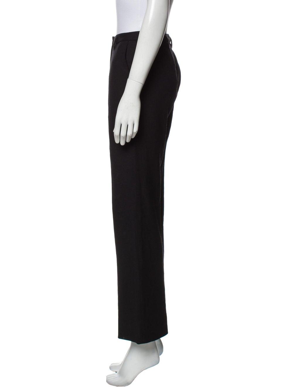 Prada Virgin Wool Wide Leg Pants Wool - image 2