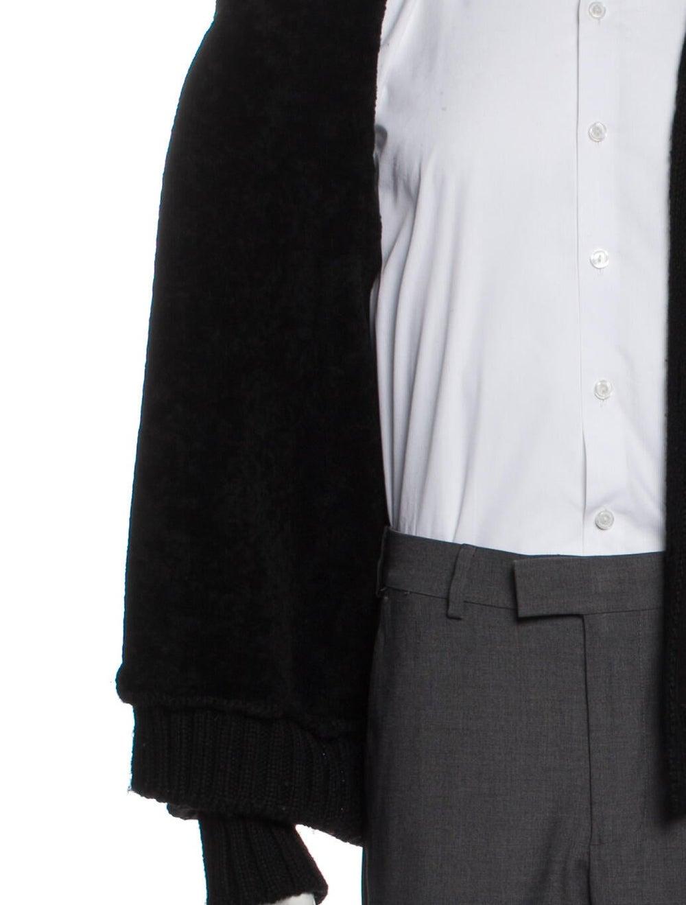 Prada Virgin Wool Mock Neck Cardigan Wool - image 4