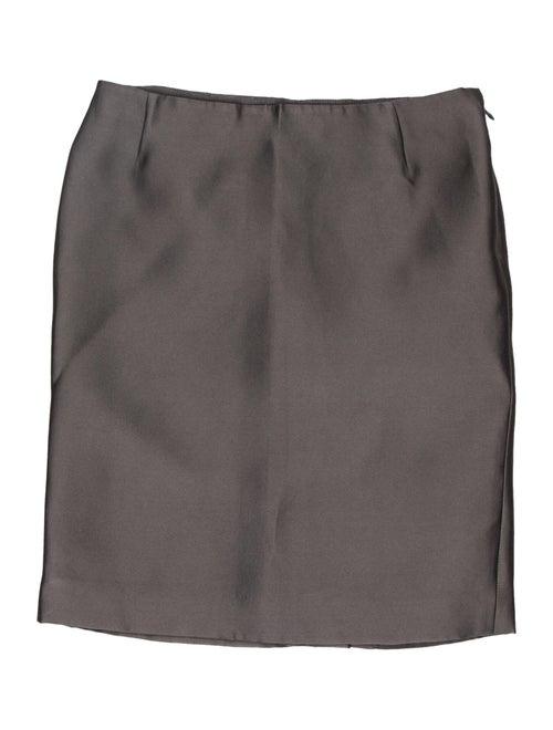 Prada Mini Skirt Grey