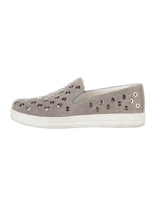 Prada Suede Sneakers Grey
