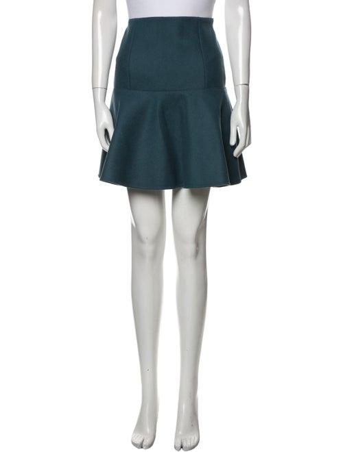 Prada Virgin Wool Mini Skirt Wool