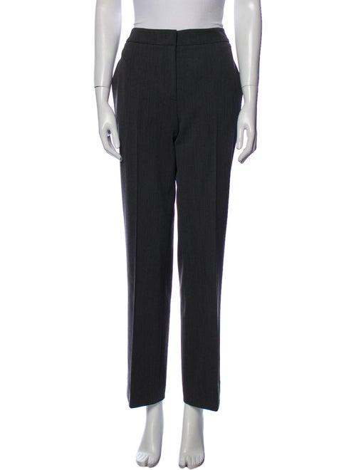 Prada Virgin Wool Wide Leg Pants Wool