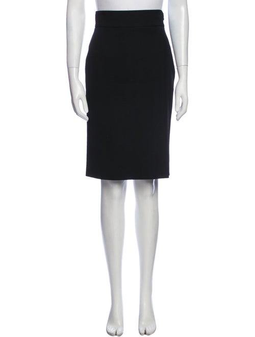 Prada Virgin Wool Knee-Length Skirt Wool