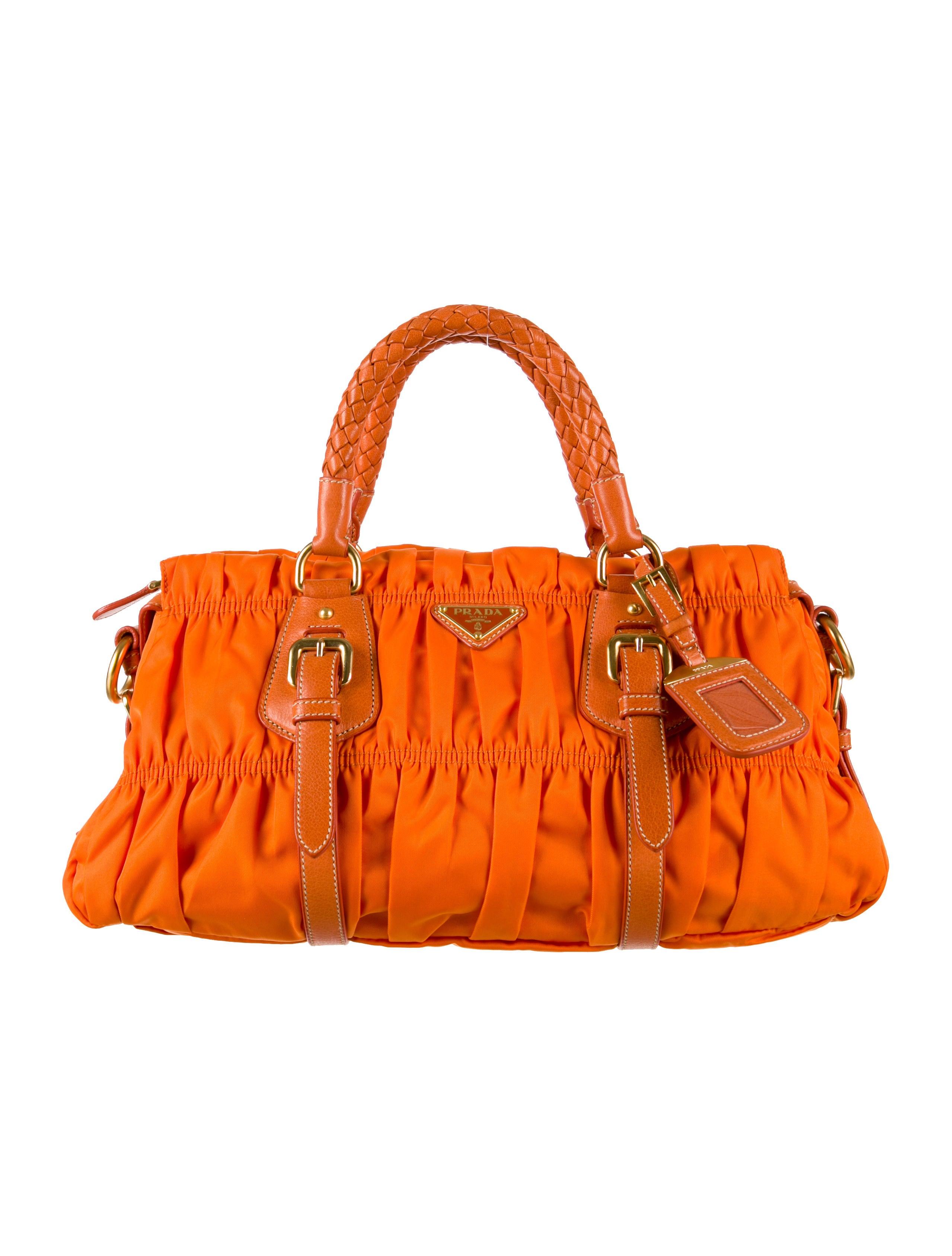 135d9d2e791f Prada Tessuto Gaufre Satchel w/ Tags - Handbags - PRA62161   The ...