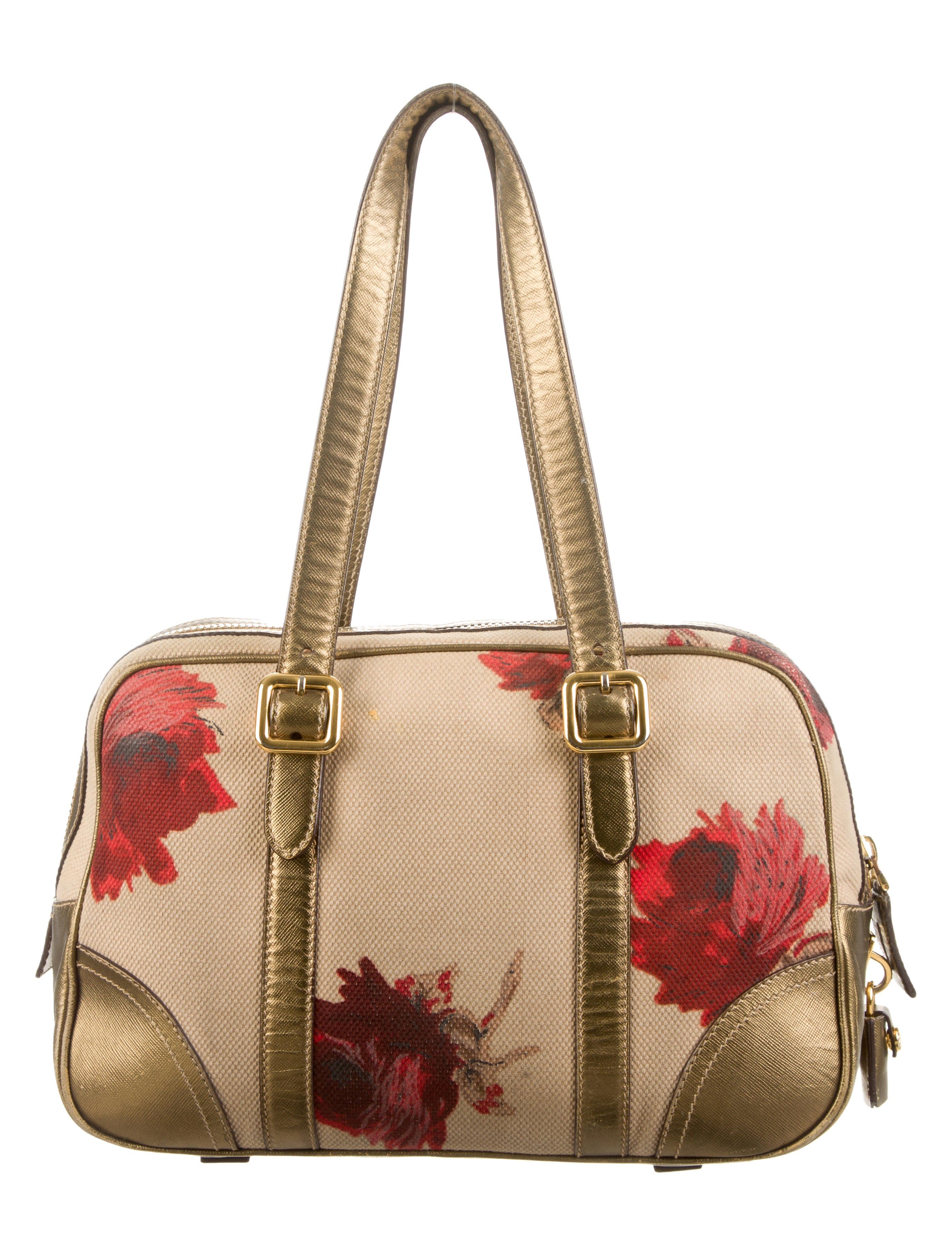 8c039fbac9a1 Prada Floral Shoulder Bag | Stanford Center for Opportunity Policy ...
