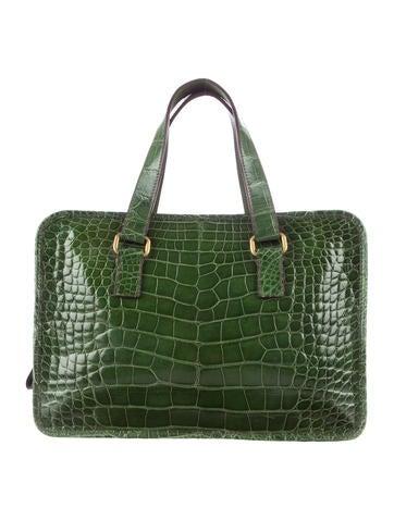 Alligator Handle Bag