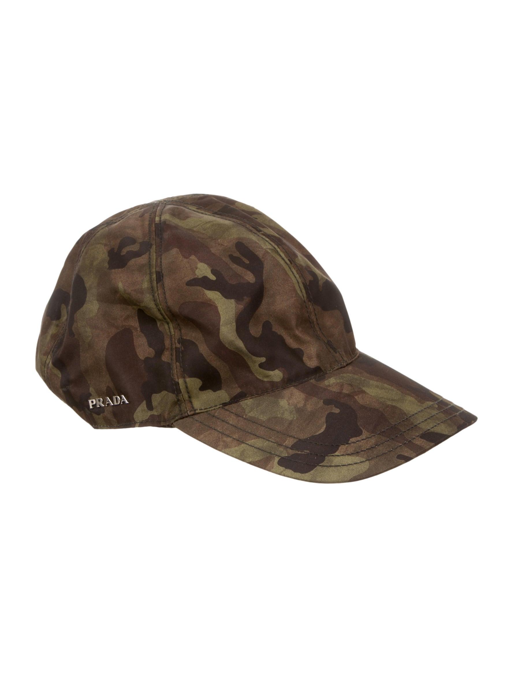 Prada Camouflage Hat - Accessories - PRA75152  ef86344aa85e