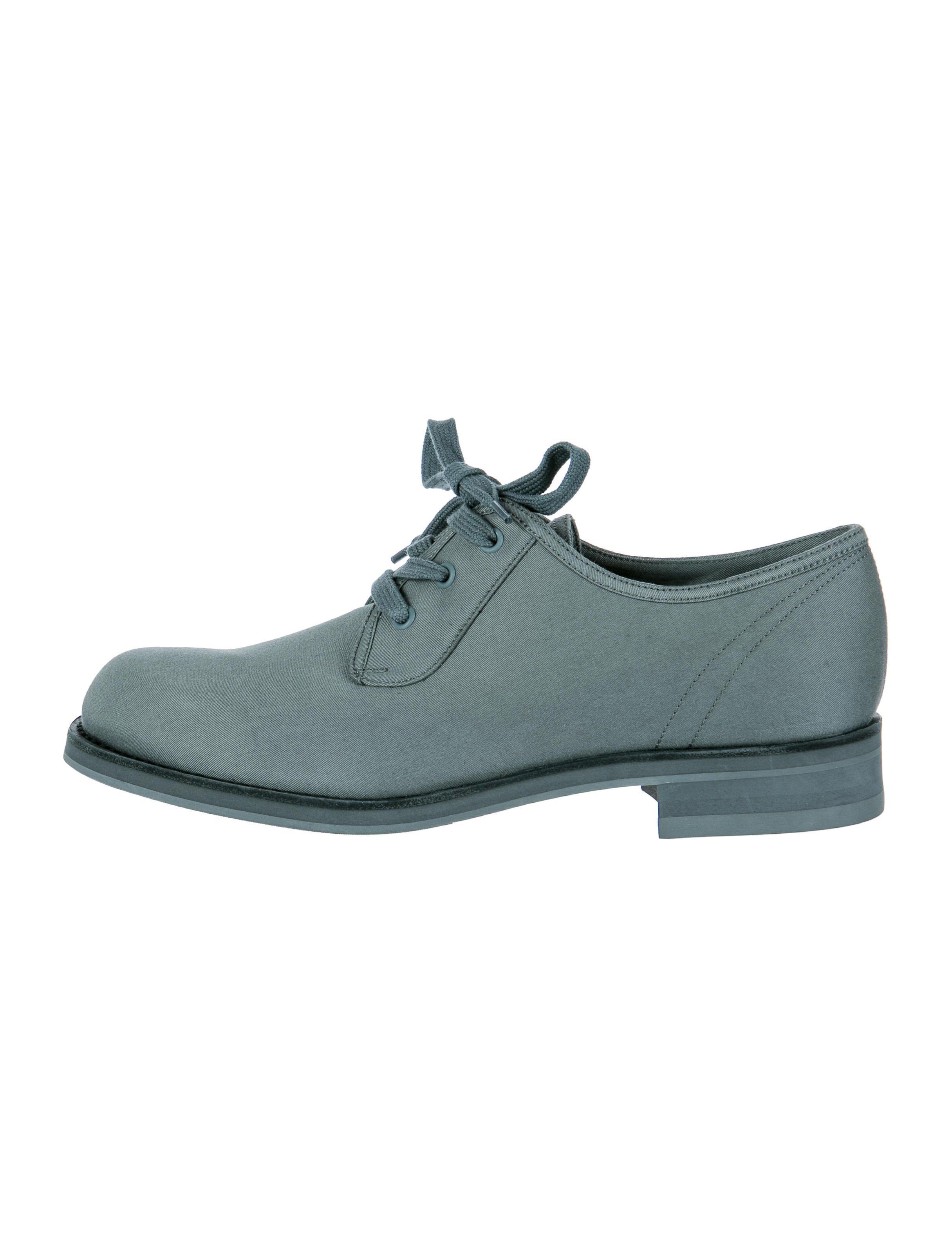 prada canvas oxfords shoes pra77241 the realreal
