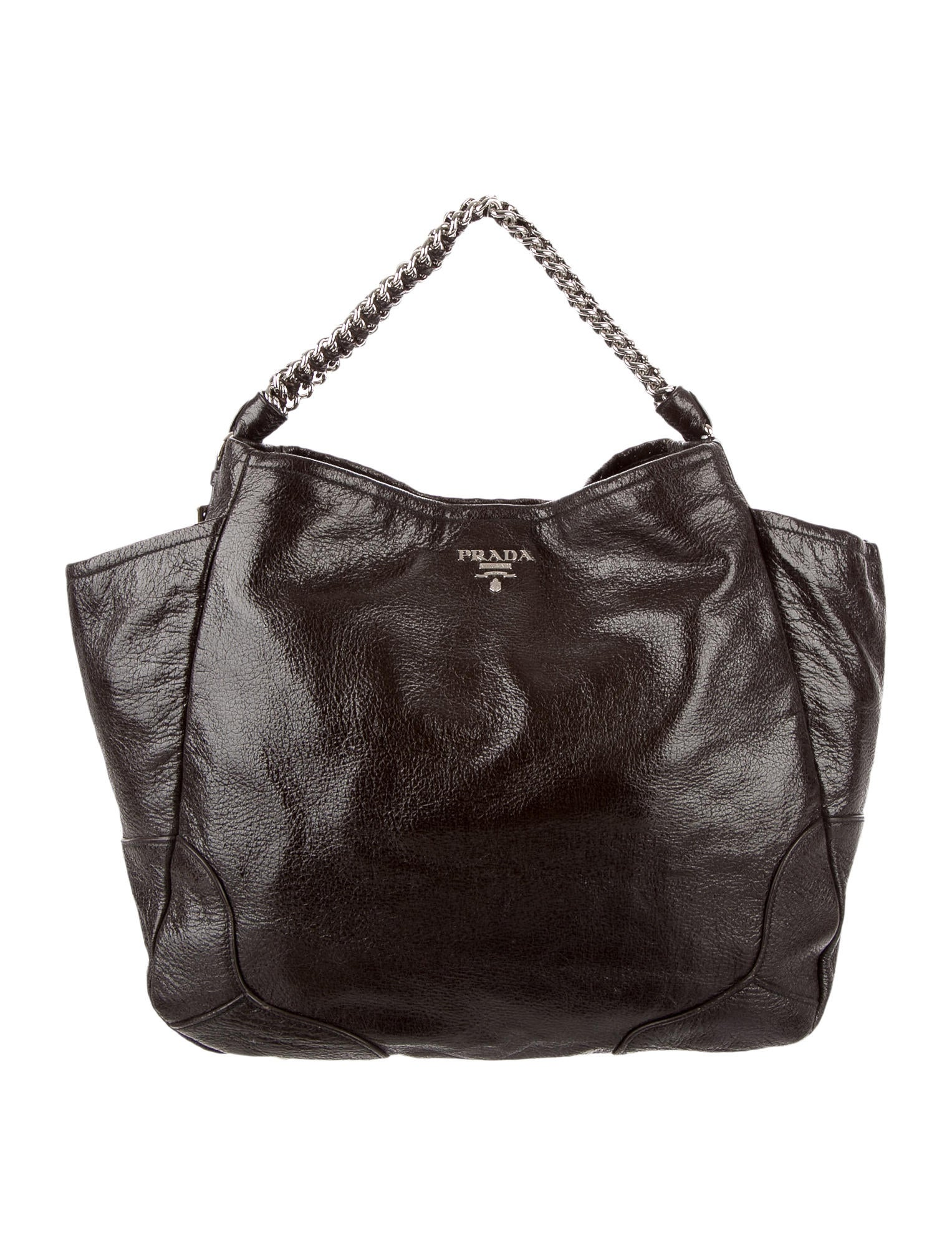2fdfadf000f329 Prada Cervo Lux Chain Bag - Handbags - PRA79282 | The RealReal