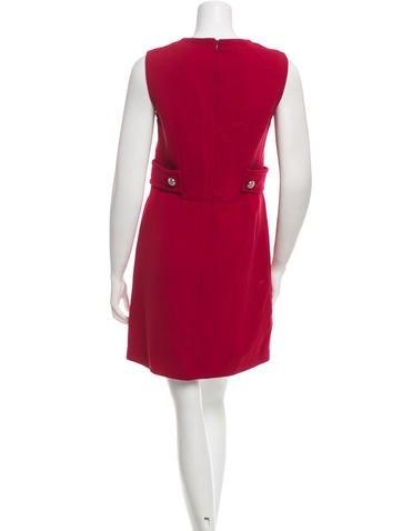Wool Shift Dress