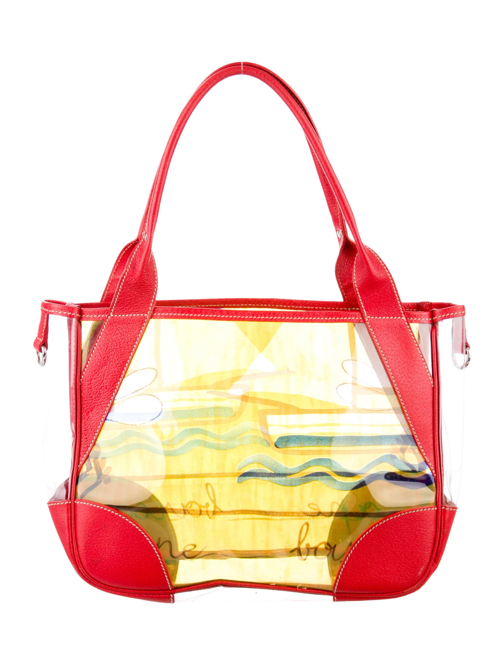 Prada Vinyl Beach Bag - Handbags - PRA82775 | The RealReal
