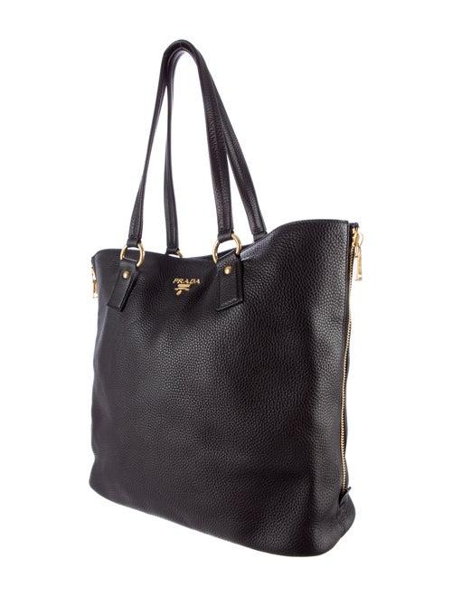 c8ccb9905122 Prada Vitello Daino Side Zip Tote - Handbags - PRA85326