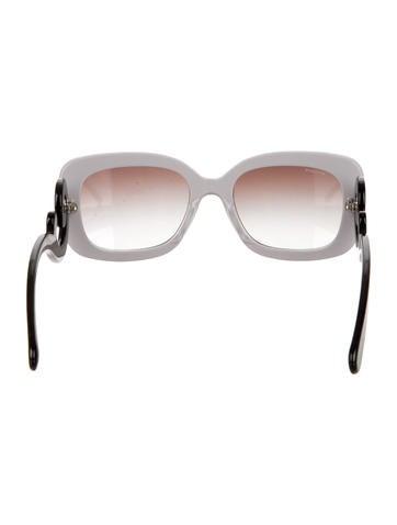 Lavender Baroque Sunglasses