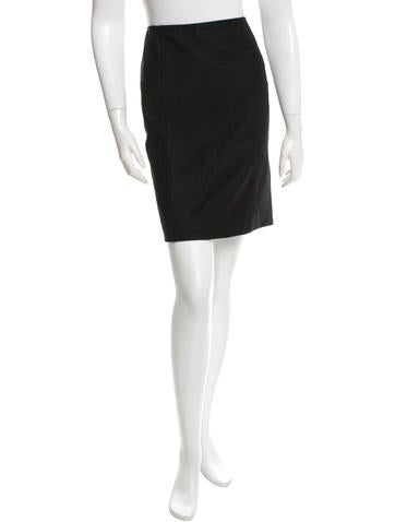 Prada Knit Mini Skirt