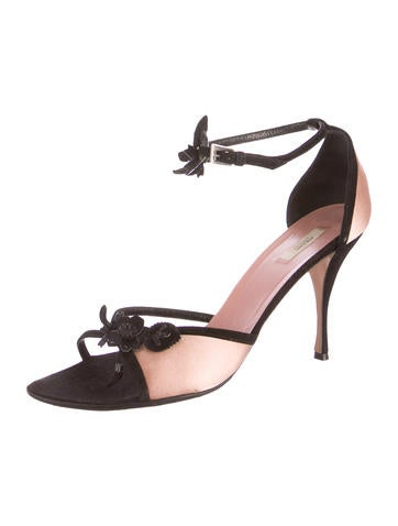 Satin d'Orsay Sandals