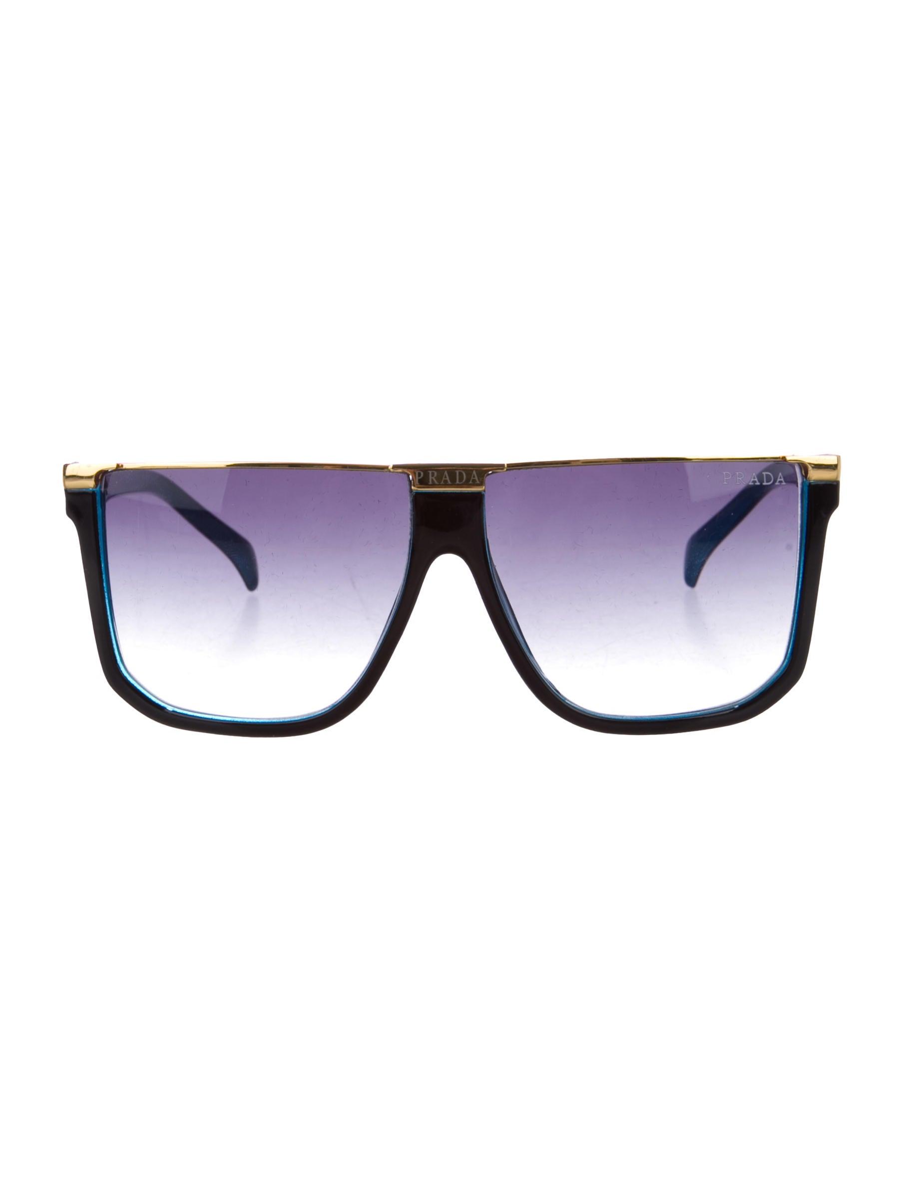 4a43602901 Prada Flat Top Sunglasses - Accessories - PRA91629