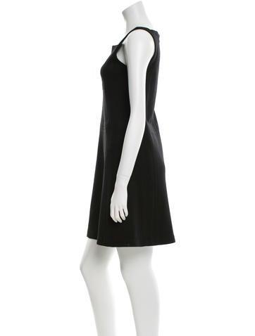 Sleeveless Wool Dress