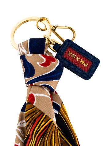 Silk Scarf Keychain