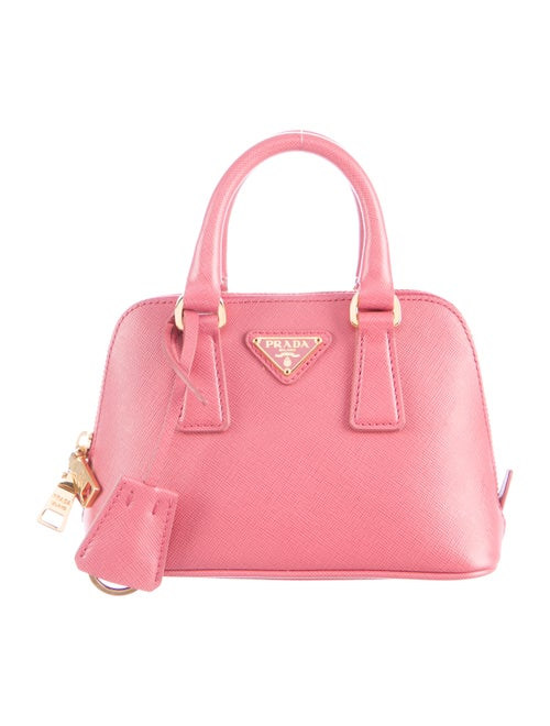 8ed6e00af209 Prada Saffiano Mini Promenade Bag - Handbags - PRA96460 | The RealReal