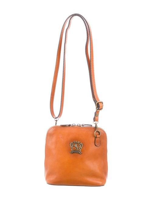 Pratesi Leather Crossbody Bag Brown
