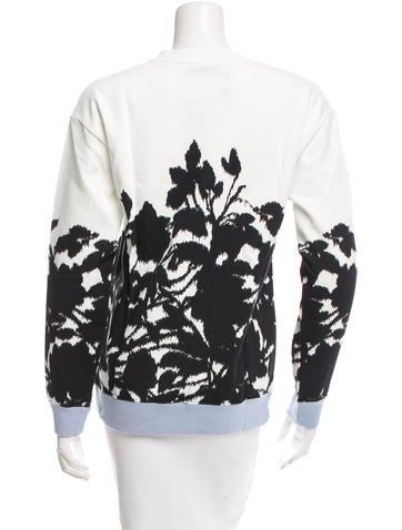 Colorblock Printed Sweatshirt w/ Tags