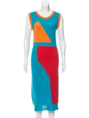 Prabal Gurung Cashmere Patterned Dress None