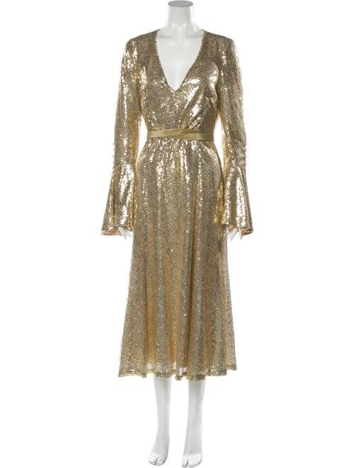 Prabal Gurung 2019 Long Dress Gold