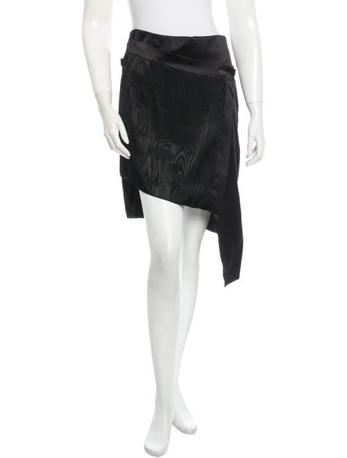 Preen Flag Skirt w/ Tags Black