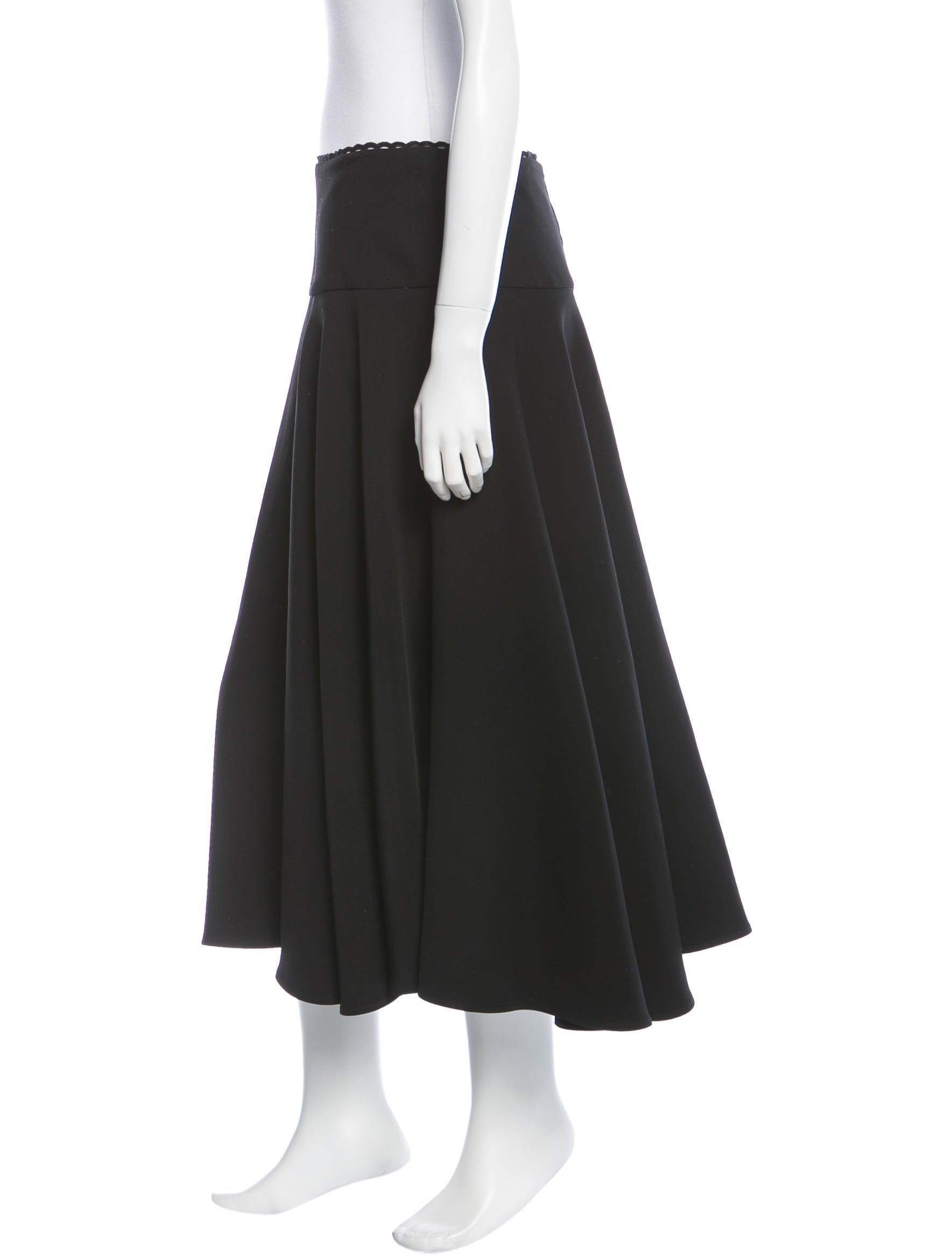 preen a line midi skirt clothing pre20858 the realreal