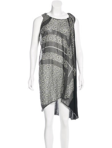 Preen Silk Printed Dress None