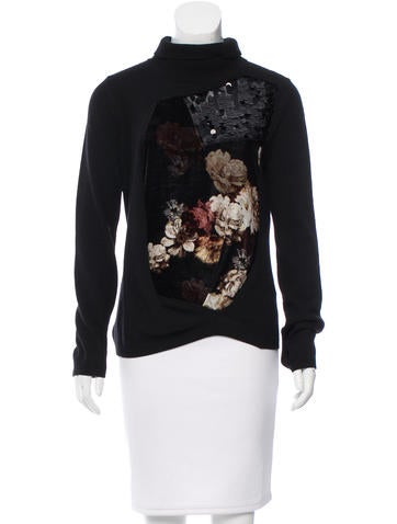 Preen Virgin Wool & Cashmere-Blend Sweater w/ Tags None